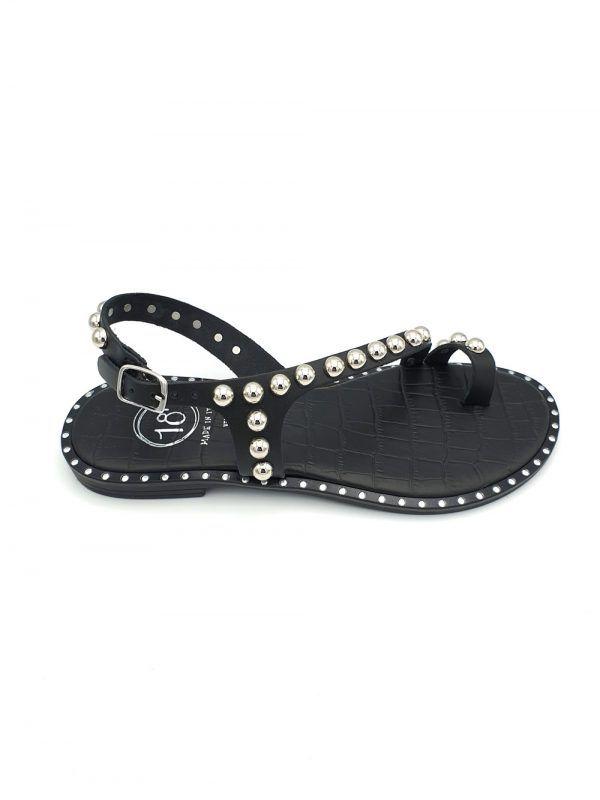Sandalia-negra-Diciottopiu-7459-banes-moda-ramallosa-nigran-d