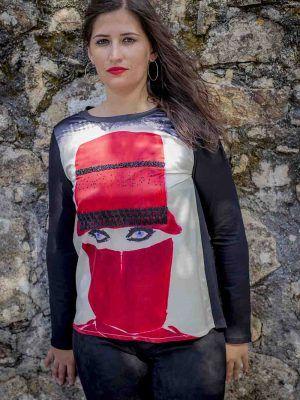 camiseta burka sidecar i920w253 banes moda ramallosa nigran f