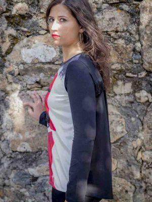 camiseta burka sidecar i920w253 banes moda ramallosa nigran p