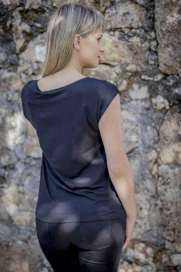 camiseta girl naf naf i9lhnt31 banes moda ramallosa nigran t
