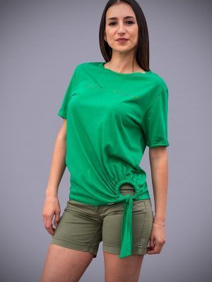 camiseta-verde-nudo-Alba-Conde-verde-negra-banes-moda-ramallosa-nigran-f