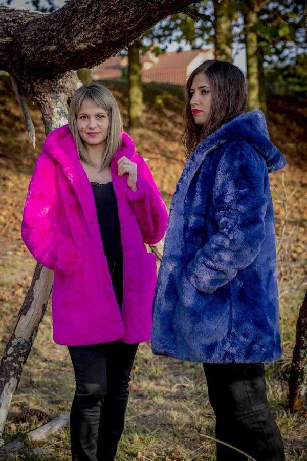 chaqueton pelo fantasia azul o fucsia i9a985002 banes moda ramallosa nigran p