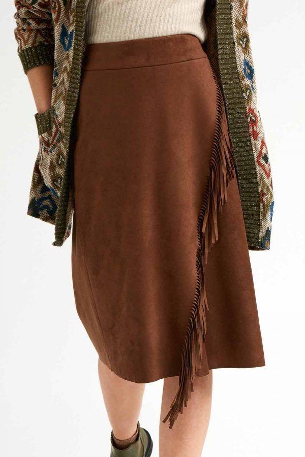 falda-de-flecos-marron-oky-I18337mirna-banes-moda-ramallosa-nigran-f