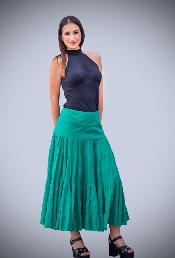 falda-verde-larga-vuelo-algodon-verde-blanca-negra-banes-moda-ramallosa-nigran-f