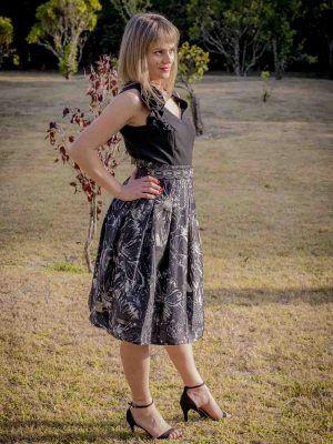 falda midi coctel i9a95007 banes moda ramallosa nigran p