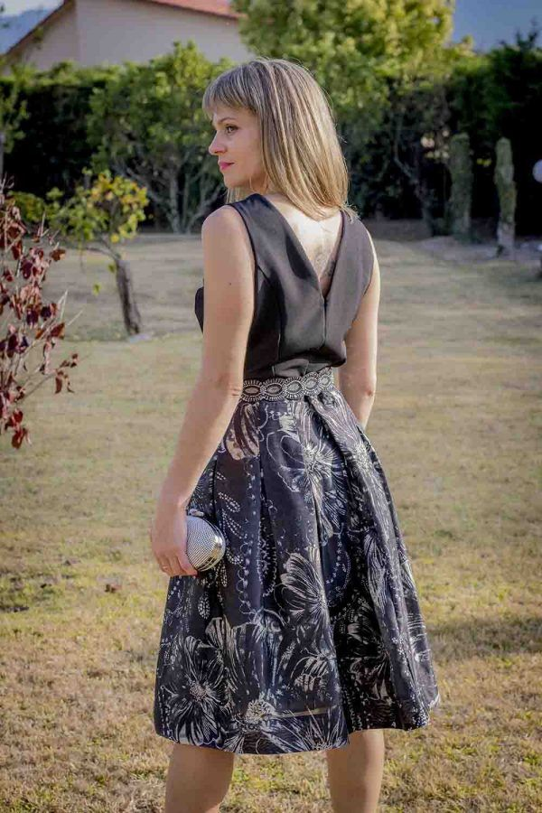 falda midi coctel i9a95007 banes moda ramallosa nigran t