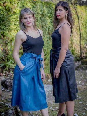 falda negra o lila tablón sidecar i9lila119 banes moda ramallosa nigran f