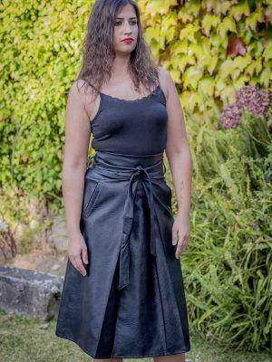 falda negra tablón sidecar i9lila119 banes moda ramallosa nigran f