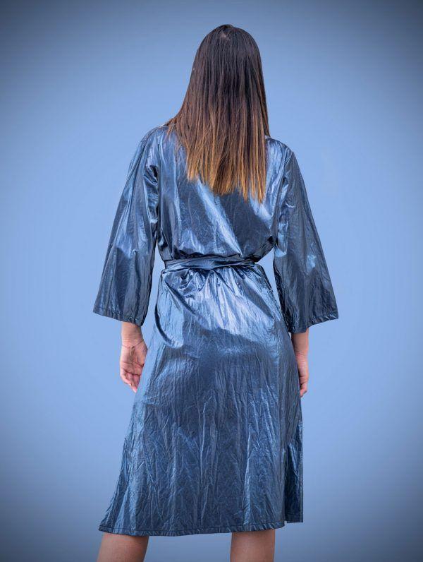 gabardina-azul-metalizada-azul-banes-moda-ramallosa-nigran-t