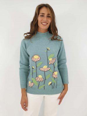 jersey-azul-bordado-flor-i15020003-banes-moda-ramallosa-nigran-d