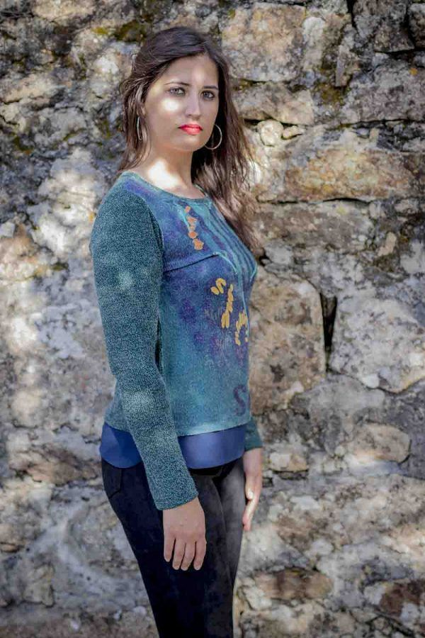 ersey azul sidecar i9ana119 banes moda ramallosa nigran p
