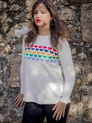 jersey blanco o marino don algodon i9d219052 banes moda ramallosa nigran f