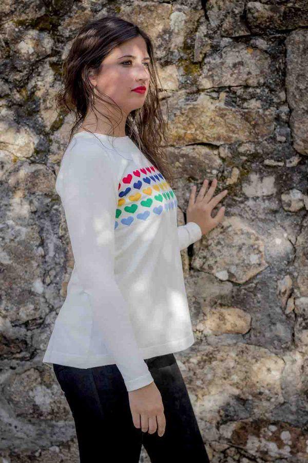 jersey blanco o marino don algodon i9d219052 banes moda ramallosa nigran p