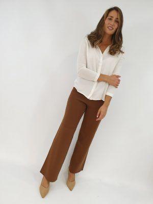 pantalon-marron-de-punto-i135304918-banes-moda-ramallosa-nigran-f