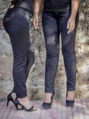 pantalon negro naf naf i9lhnp9 banes moda ramallosa nigran f