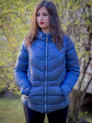 parka corta azul reversible i99652cremona banes moda ramallosa nigran f1
