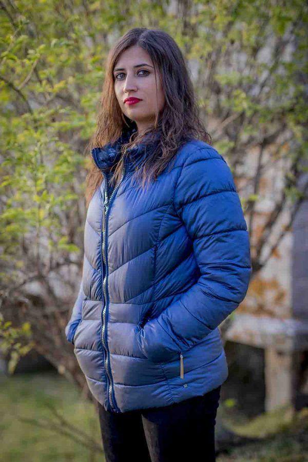 parka corta azul reversible i99652cremona banes moda ramallosa nigran p