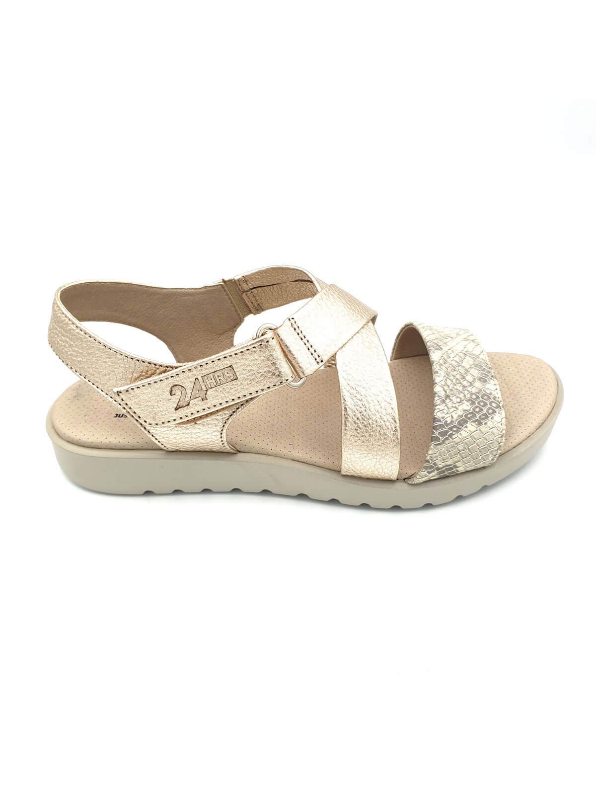 Doradas MujerBanes Zapatos 24hrs Sandalias Moda Planas De kPXZTwiOu