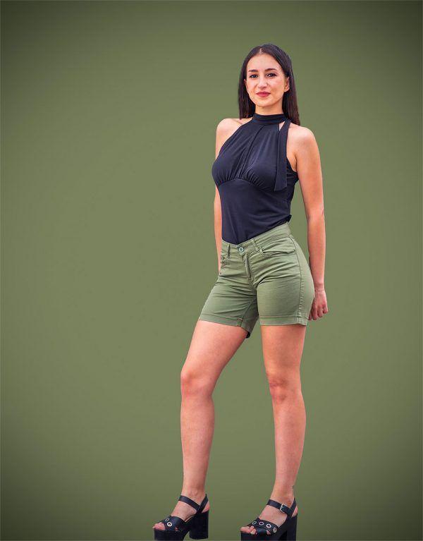 short-algodon-verde-caqui-blanco-banes-moda-ramallosa-nigran-p