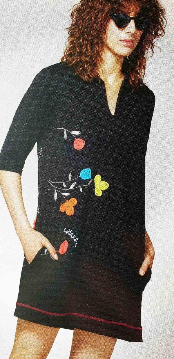 vestido-algodon-cuello-camisero-V020S281-banes-moda-ramallosa-nigran