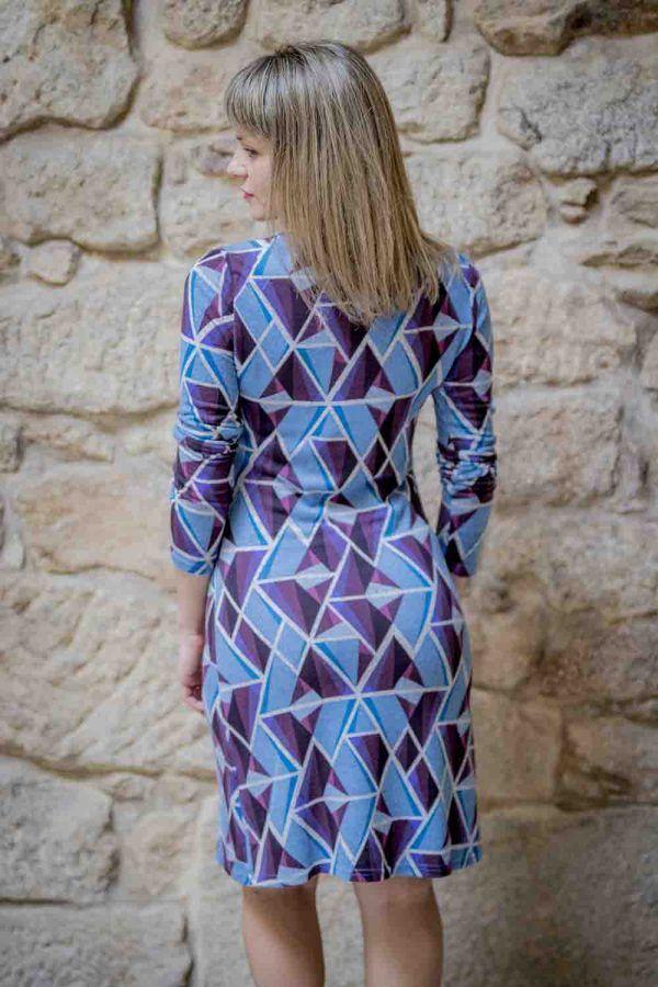 vestido azul pop art mdm i975502706 banes moda ramallosa nigran t