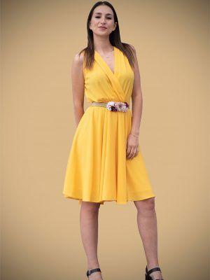 vestido-corto-coctel-amarillo--banes-moda-ramallosa-nigran-f