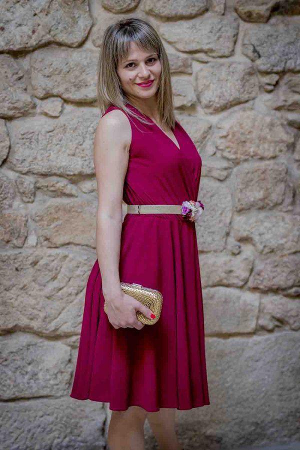 vestido corto coctel i9032862 banes moda ramallosa nigran p