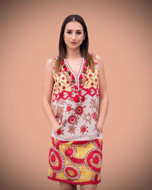 vestido-etnico-borlas-rojo-azul-banes-moda-ramallosa-nigran-f