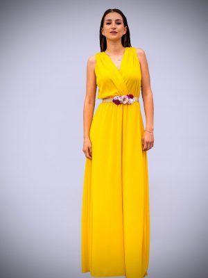 vestido-largo-amarillo-escote-cruzado-banes-moda-ramallosa-nigran-f