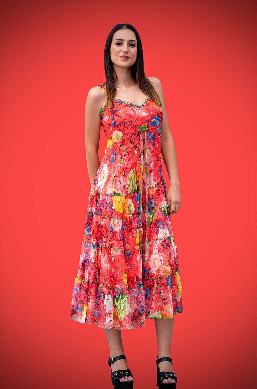 Gasa MujerBanes Midi Vestido De Moda Tienda Ropa L4Rq53Aj