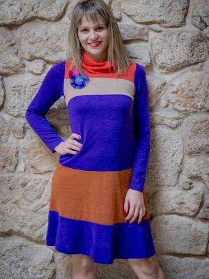 vestido poupee i929p912 banes moda ramallosa nigran f