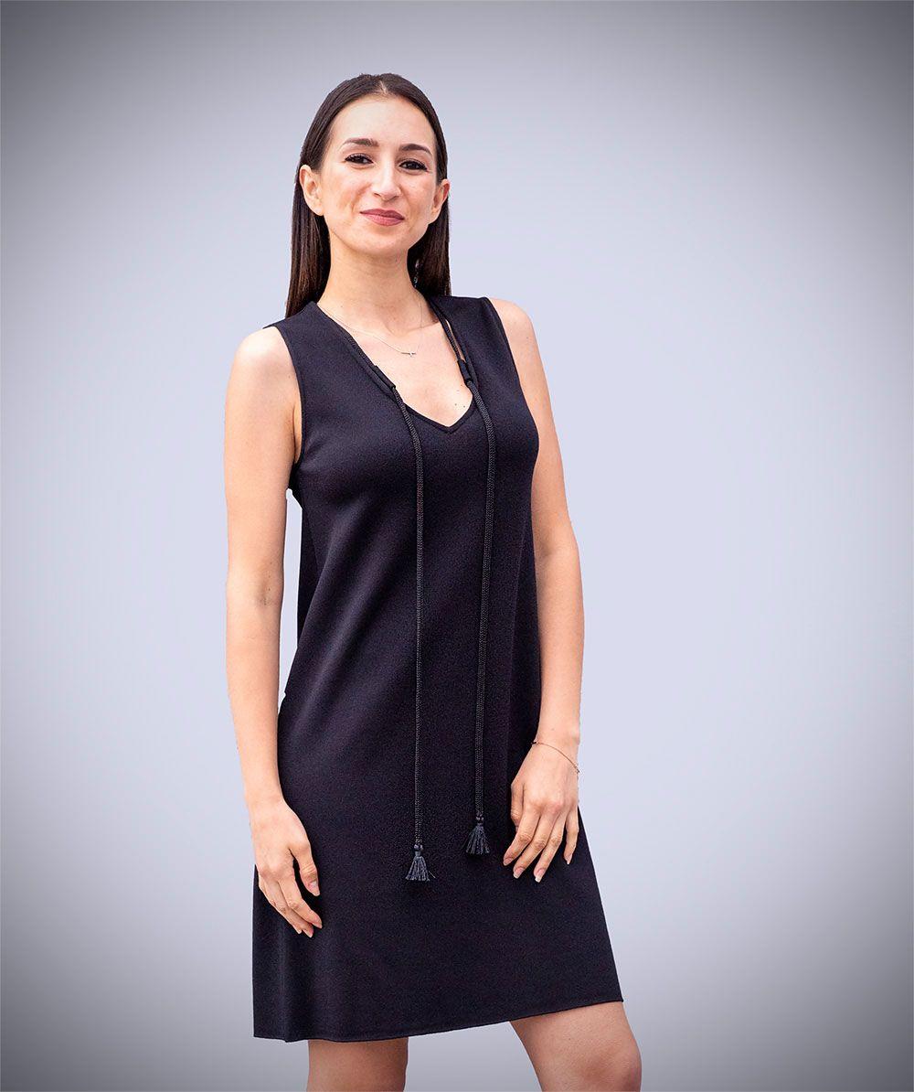 De MujerBanes Ropa Negro Vestido Punto Tienda Moda mN0wOyn8vP