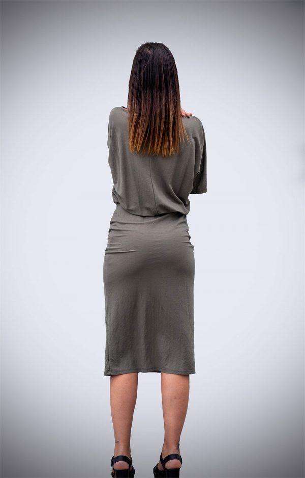 vestido-safari-falda-tubo-caqui-jeams-banes-moda-ramallosa-nigran-t