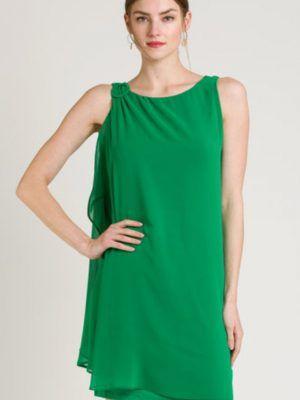 vestido-verde-gasa-naf-naf-V0MENR27-banes-moda-ramallosa-nigran-a